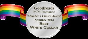 MM Romance Nominee Badge - White Collar