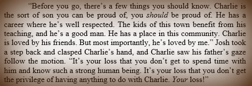 Charlie quote