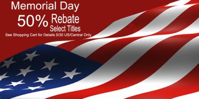 Memorial Day Rebate
