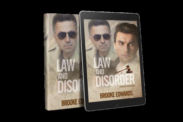 FRIEND FRIDAY: Law and Disorder by Brooke Edwards #gayromance #FriendlyFriday @brookeedwardsau