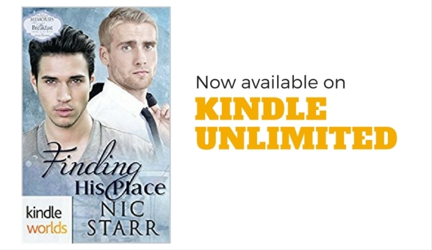 Finding His Place now available FREE on Kindle Unlimited