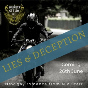 Lies and Deception by Nic Starr gay romance novel