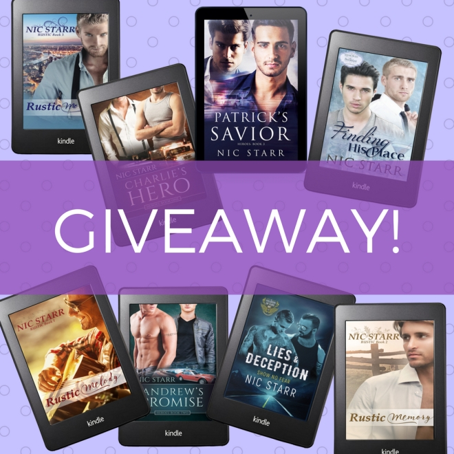 Nic Starr giveaway